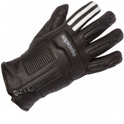Spada Rigger Ladies WP Leather Gloves Mono Black